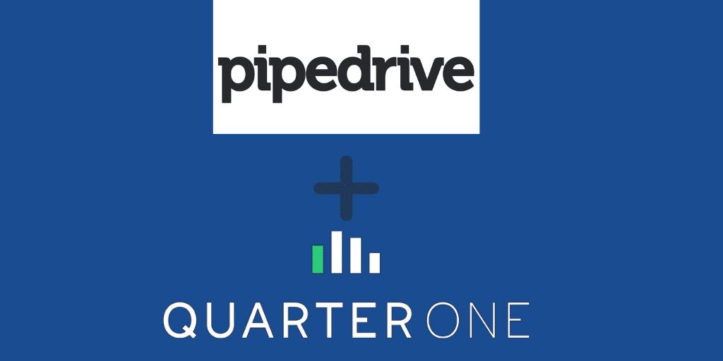Sales Forecasting with QuarterOne & Pipedrive