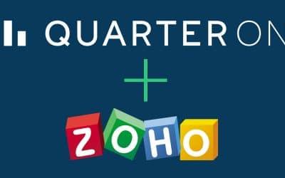 QuarterOne now listed on Zoho Marketplace